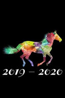 2019-2020: 6x9 Notebook, Ruled, Horse Lover Journal to Write In, Daily Planner for the Year, Organizer, Equestrian, Horse Riding