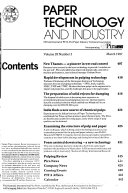 Paper Technology and Industry