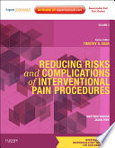 Reducing Risks and Complications of Interventional Pain Procedures Book