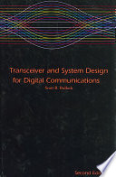 Transceiver and System Design for Digital Communications