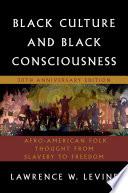Black Culture and Black Consciousness