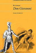 W  A  Mozart  Don Giovanni