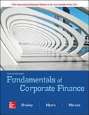 Fundamental Of Corporate Finance 10e Book PDF