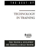 Technology in Training Book