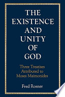 The Existence and Unity of God