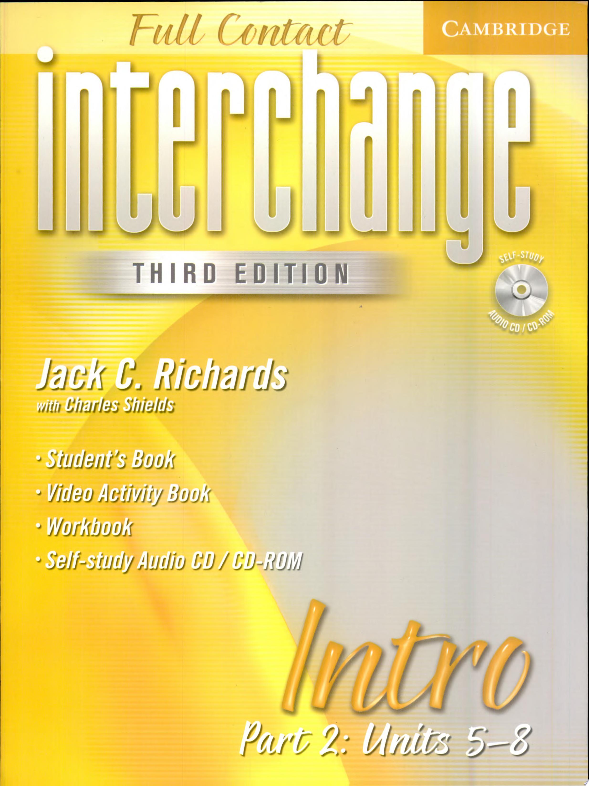 Interchange Third Edition Full Contact Intro Part 2