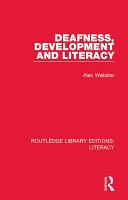 Deafness  Development and Literacy
