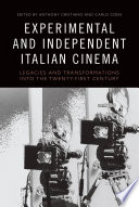 Experimental and Independent Italian Cinema