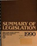 Summary of Legislation
