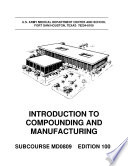 Drug Compounding And Manufacturing