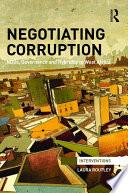 Negotiating Corruption