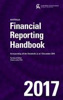 Cover of Financial Reporting Handbook 2017 Australia