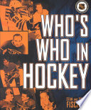 Who s who in Hockey Book