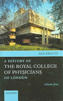 A History of the Royal College of Physicians of London