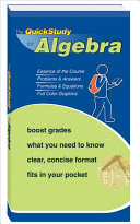 The QuickStudy for Algebra