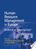 Human Resource Management In Europe Book PDF