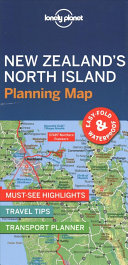 Lonely Planet New Zealand s North Island Planning Map