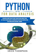 Python for Data Analysis Book