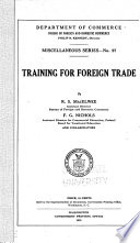Training For Foreign Trade