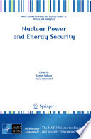 Nuclear Power and Energy Security Book