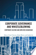 Corporate Governance And Whistleblowing
