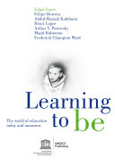Pdf Learning to be