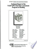 Technical Report of the NAEP 1992 Trial State Assessment Program in Reading