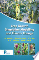 Crop Growth Simulation Modelling And Climate Change