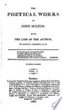The poetical works of John Milton, with the life of the author by S. Johnson