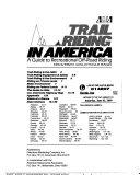 Trail Riding in America