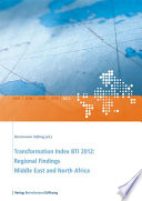 Transformation Index BTI 2012  Regional Findings Middle East and North Africa