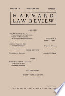 Harvard Law Review Volume 131 Number 4 February 2018