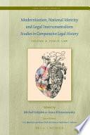 Modernization, National Identity and Legal Instrumentalism - Public Law