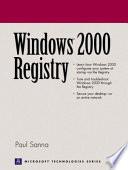 Windows 2000 Registry