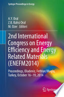2nd International Congress on Energy Efficiency and Energy Related Materials  ENEFM2014