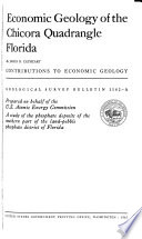 Economic Geology of the Chicora Quadrangle, Florida