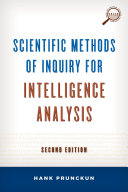 Scientific Methods of Inquiry for Intelligence Analysis Pdf/ePub eBook