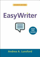 Book cover for EasyWriter with 2020 APA Update