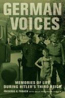 German Voices Pdf/ePub eBook