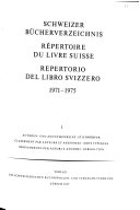 Elenco del libro svizzero