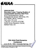 25th AIAA Fluid Dynamics Conference