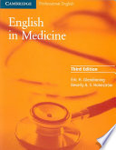 """""""English in Medicine: A Course in Communication Skills"""" by Eric H. Glendinning, Beverly Holmström"""