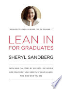 link to Lean in : for graduates in the TCC library catalog