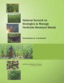 National Summit on Strategies to Manage Herbicide-Resistant Weeds Pdf/ePub eBook