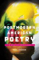 Postmodern American Poetry Book