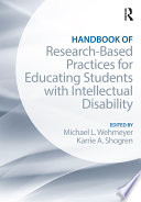 Handbook Of Research Based Practices For Educating Students With Intellectual Disability