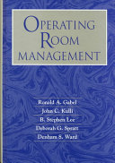 Operating Room Management Book