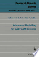 Advanced Modelling for CAD CAM Systems