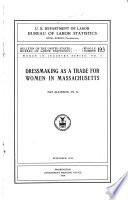 Dressmaking as a Trade for Women in Massachusetts