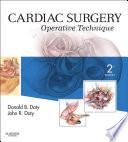 Cardiac Surgery E Book